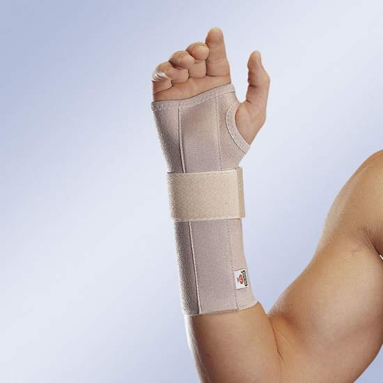 ELASTIC WRIST SPLINT WITH LONG OPEN ORLIMAN