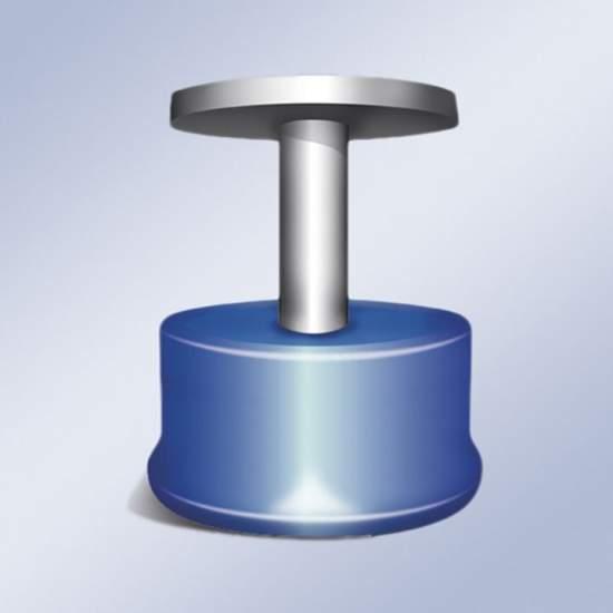 Magnetische knop