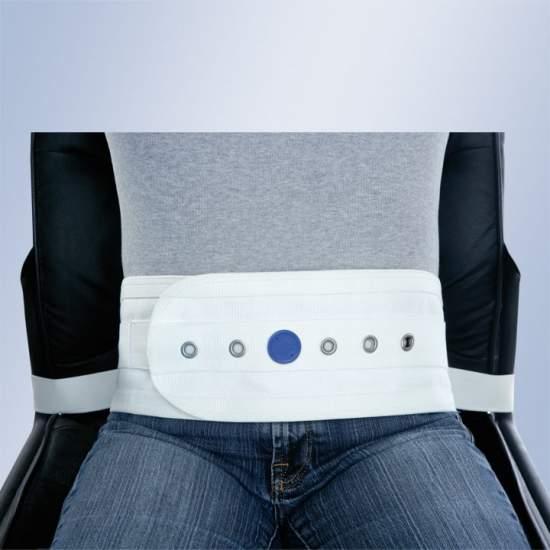 Abdominale harnas stoel of fauteuil magneten met gesp
