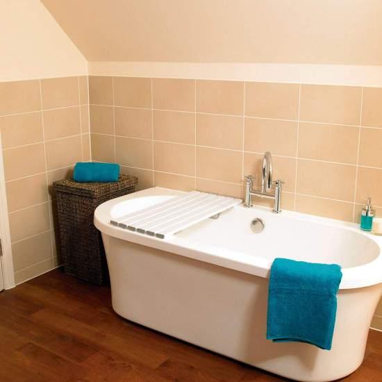 Extra großer Badewannentisch