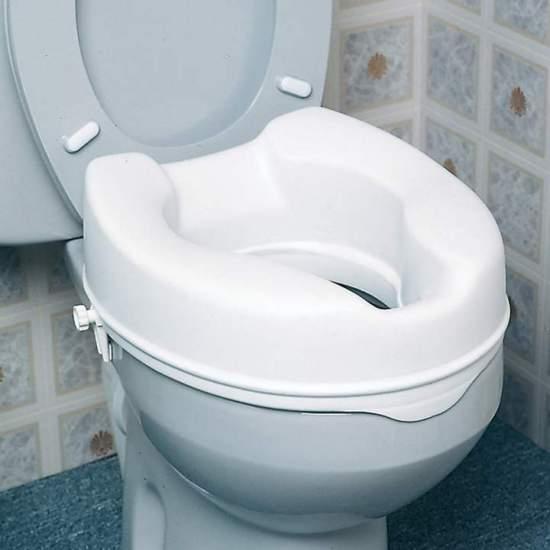 Toiletzitting van 15 cm