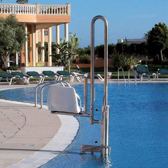 Guindaste para piscina removível PK