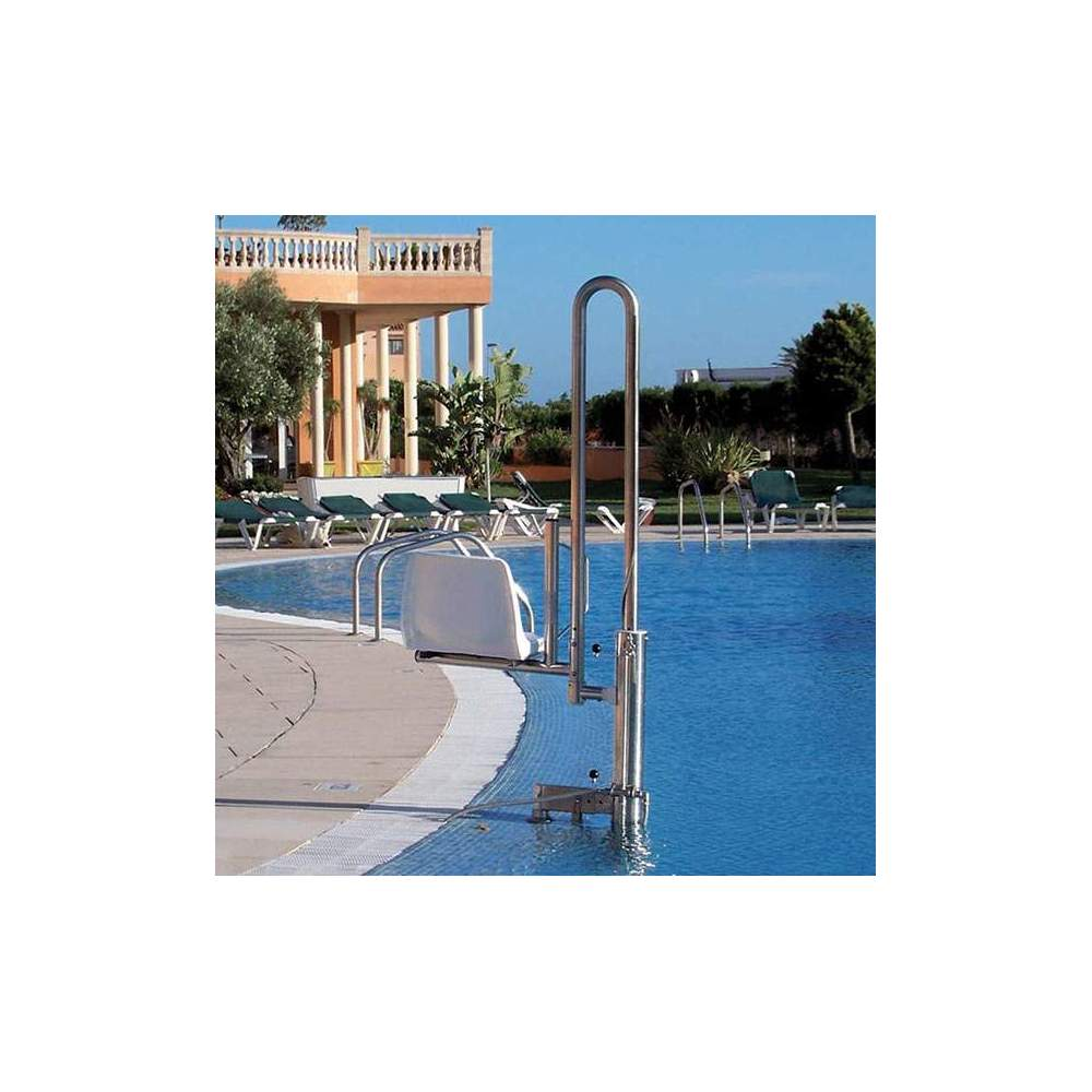 Crane for removable pool PK