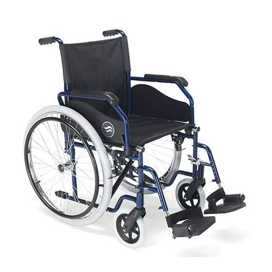 Breezy wheelchair 90 folding steel autopropulsable