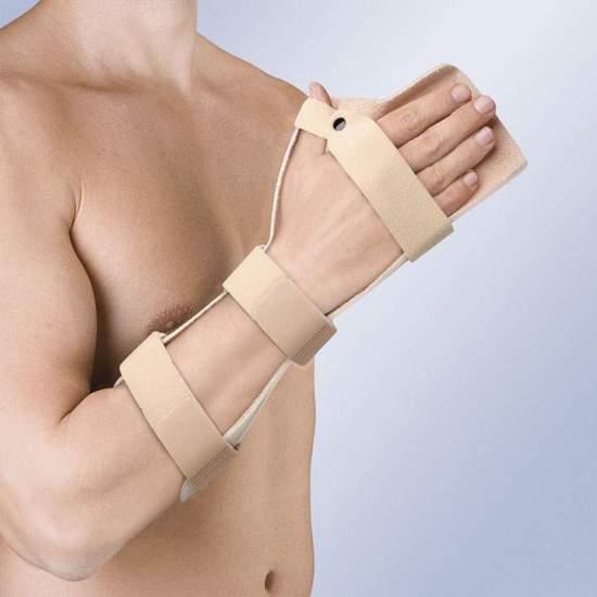 DRIJVENDE IMMOBILIZER VAN HAND IN PLATTE FUNCTIONELE POSITIE TP-6104