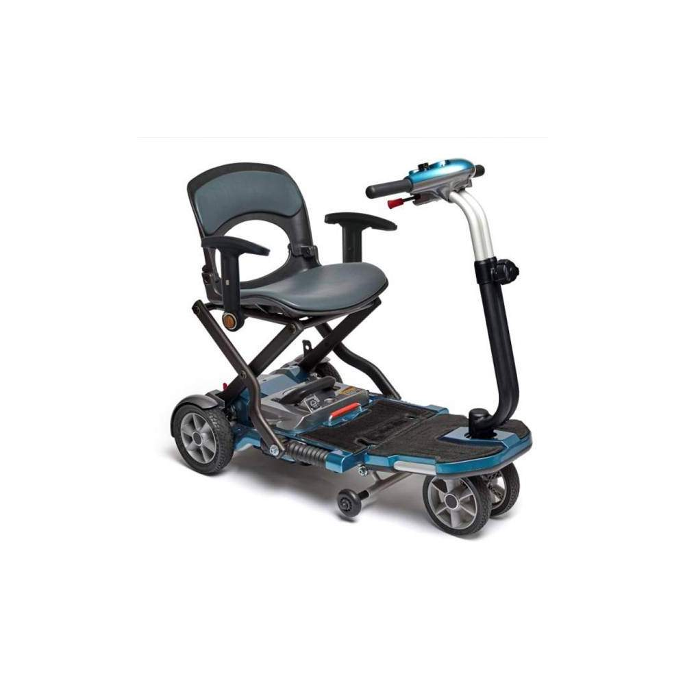 Brio S folding scooter with armrest