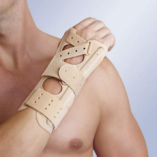 SPLINT WRIST WITH PALM...