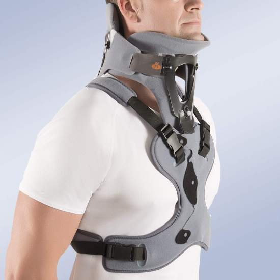 Cervical collar bivaldo...