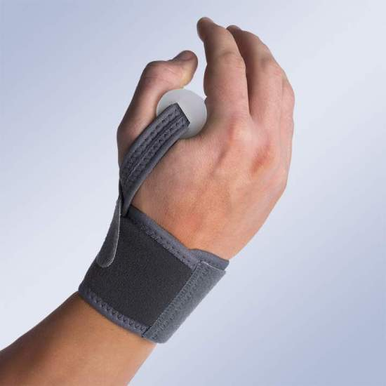 Thumb abduction wristband