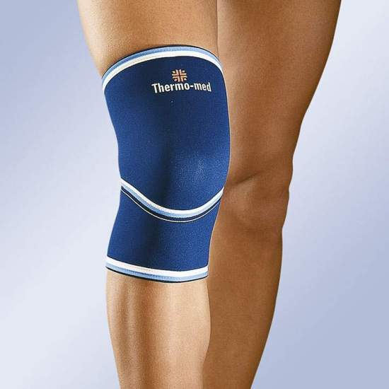 NEOPRENE KNEE WITH HEAD CLOSED