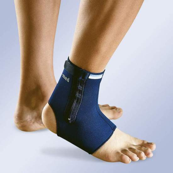 NEOPRENE ANKLE WITH ZIPPER