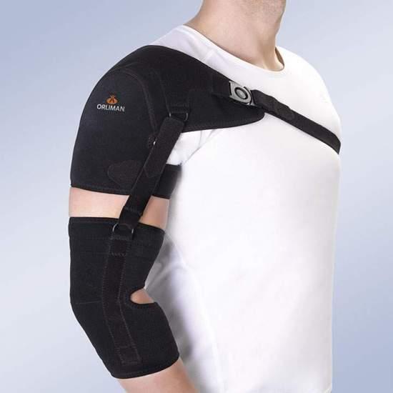 Schulterstütze mit Arm- und...