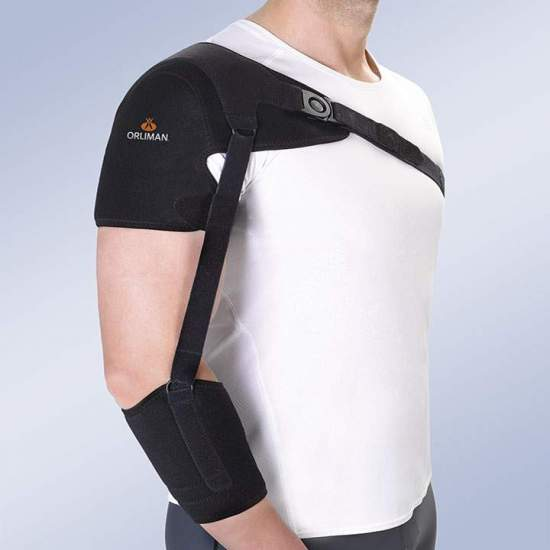 Shoulder support with...