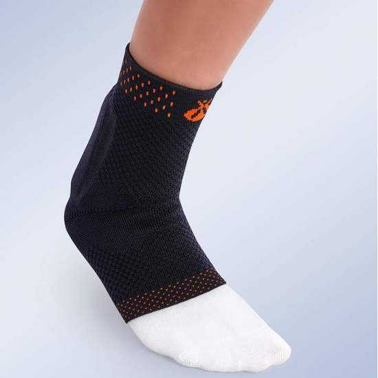 Elastic ankle with Achilles...