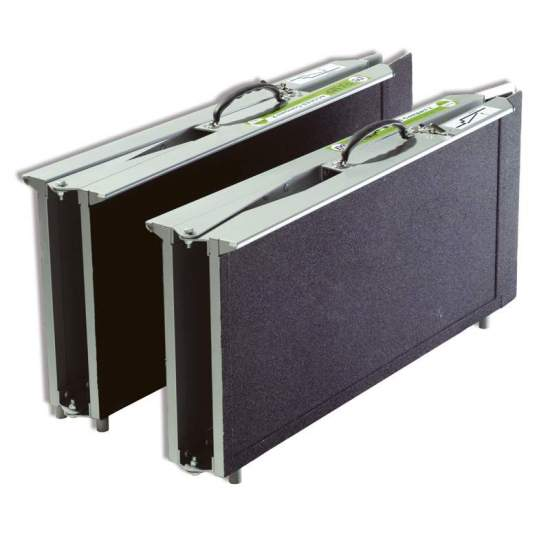 Ramp type suitcase...