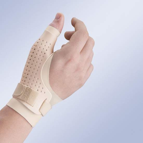 Breathable thumb splint...