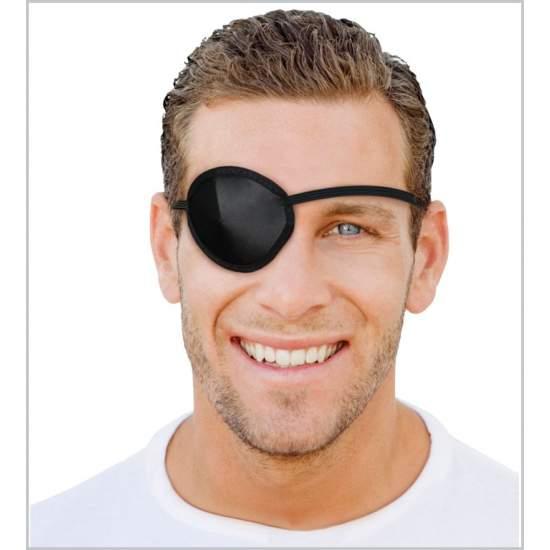 Augenklappe (schwarz)