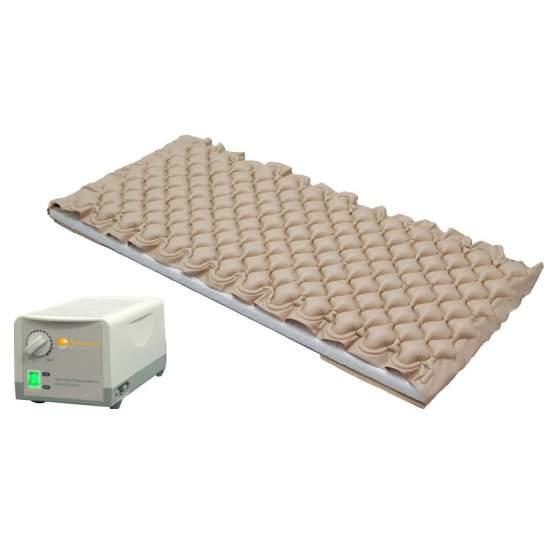 Anti-decubitus luchtmatras met compressor met drukregeling