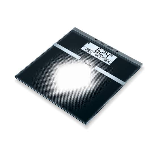 Diagnostic glass scale