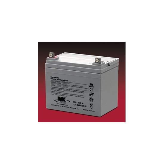 Batterijen AGM 35 Amph - MK Powered MU-1 SLD M