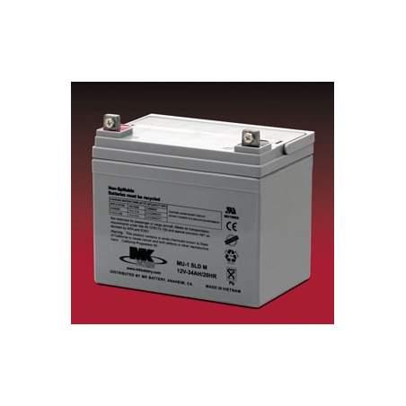 Batteries AGM 35 Amph - MK Powered MU-1 SLD M