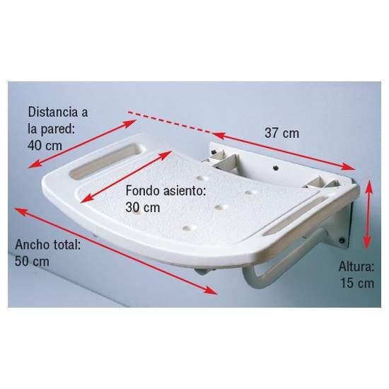 FOLDING WALL SHOWER SEAT
