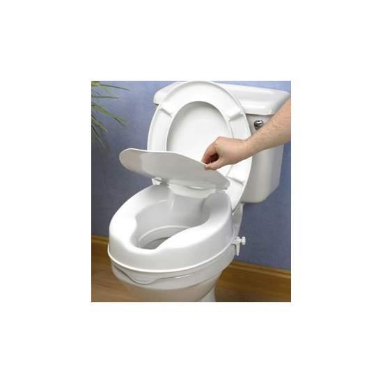 WC LIFT. (10 cm) MET DEKSEL