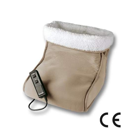 Fußwärmer mit Massagegerät