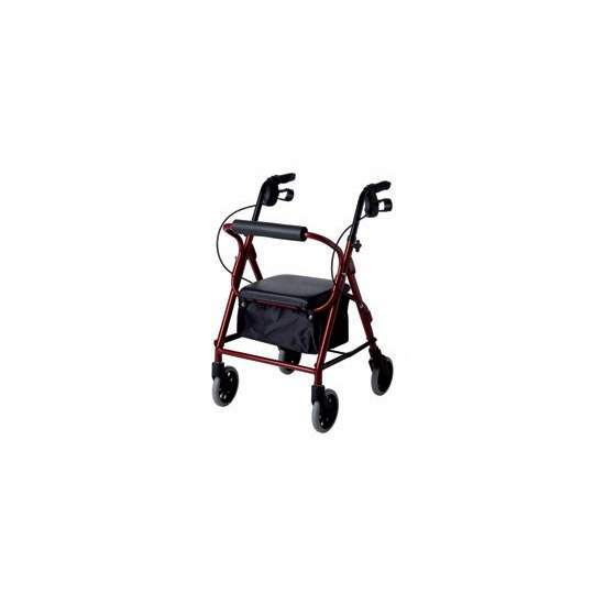 Aluminum walker narrow rolator LOW