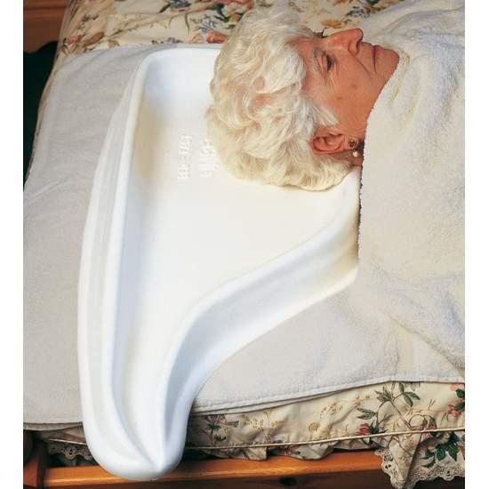 Hoofdwasser voor bed