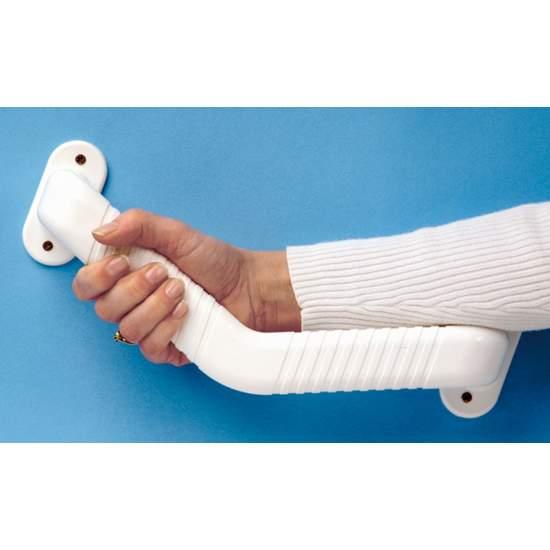 Angled handle
