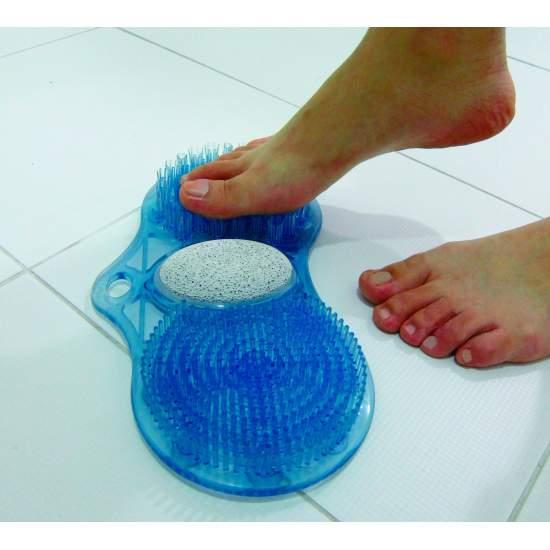 Fußwaschmatte mit Bimsstein