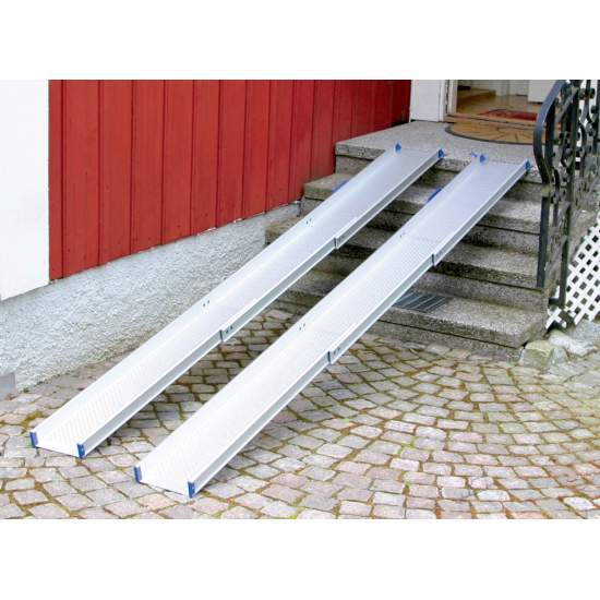 Telescopic ramps