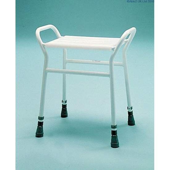 Rectangular shower stool