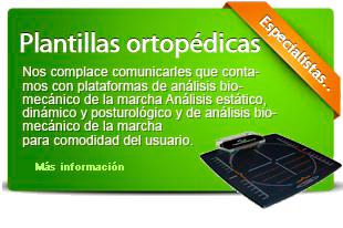 Plantillas ortopedicas